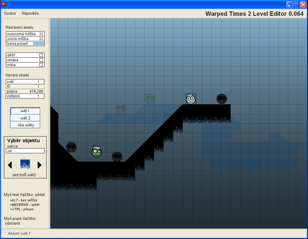 Warped Times 2 Level Editor